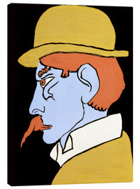 Canvas  Man with Moustache - Henri Gaudier-Brzeska