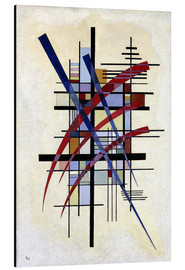 Alu-Dibond  Sign with accompaniment - Wassily Kandinsky