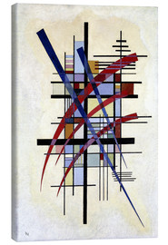 Canvas  Sign with accompaniment - Wassily Kandinsky