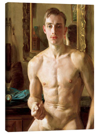 Canvas print  The Boxer - Konstantin Andreevic Somov