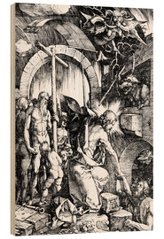 Wood print  The Harrowing of Hell or Christ in Limbo, from The Large Passion - Albrecht Dürer