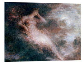 Acrylic print  The queen of the night - Henri de Fantin-Latour