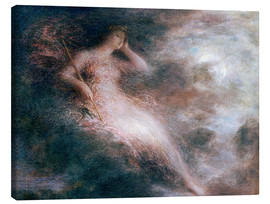 Canvas  The Queen of the Night  - Henri de Fantin-Latour
