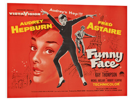 Foam board print  Funny Face - English School