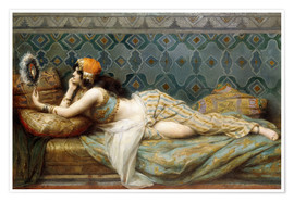 Premium poster The Odalisque