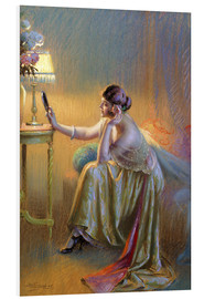 Foam board print  Silent reading - Delphin Enjolras