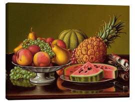 Canvas print  Still Life with Fruit - Levi Wells Prentice
