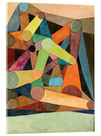 Acrylic print  Open Mountain - Paul Klee