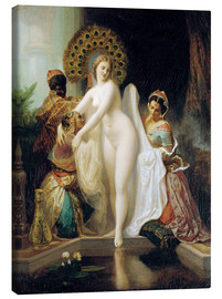 Canvas print  The Dressing Room - Henri Pierre Picou