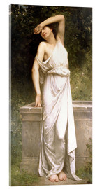 Acrylic print  A Classical Beauty by a Well - William Adolphe Bouguereau