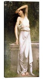 Canvas  A Classical Beauty by a Well - William Adolphe Bouguereau