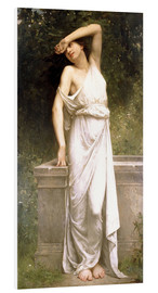 Foam board print  A Classical Beauty by a Well - William Adolphe Bouguereau