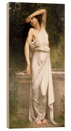 Wood  A Classical Beauty by a Well - William Adolphe Bouguereau