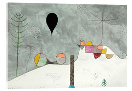 Acrylic print  Winter picture - Paul Klee
