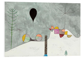 Foam board print  Winter picture - Paul Klee