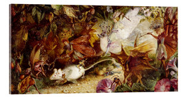 Acrylic print  The Chase of the White Mouse - John Anster Fitzgerald