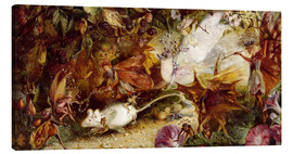 Canvas print  The Chase of the White Mouse - John Anster Fitzgerald