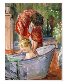Premium poster  The Bath - Henri Lebasque