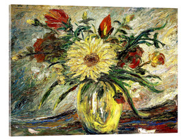Acrylic print  Tribute to Vincent Van Gogh - Joaquin Clausell