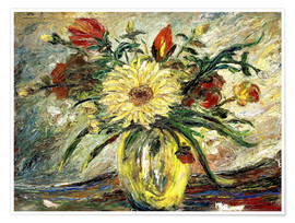 Premium poster  Tribute to Vincent Van Gogh - Joaquin Clausell