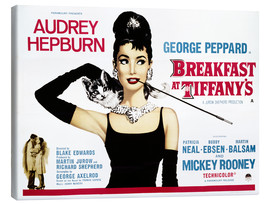 Canvas print  Breakfast at Tiffany's - English School