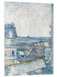 Forex  View from the Artist's Window, Rue Lapic - Vincent van Gogh