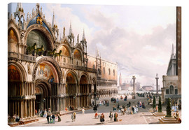 Canvas print  The Basilica di San Marco and the Doge's Palace in Venice - Carlo Grubacs