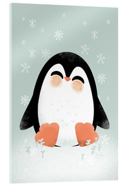 Acrylic glass  Animal Friends - The Penguin - Kanzi Lue