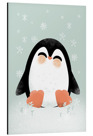 Aluminium print  Animal Friends - The Penguin - Kanzilue