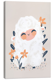 Canvas print  Animal Friends - The sheep - Kanzilue