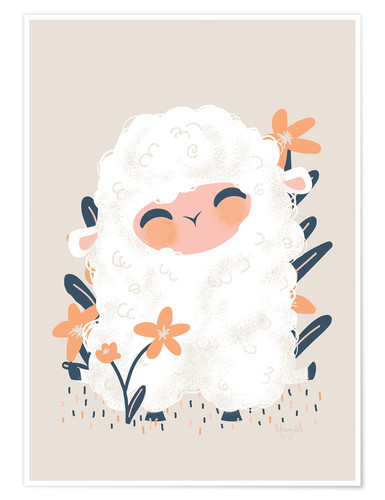 Premium poster Animal Friends - The sheep