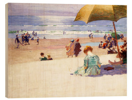 Wood print  Hourtide - Edward Henry Potthast