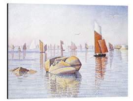 Aluminium print  Concarneau, quiet morning - Paul Signac