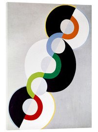Acrylic glass  Endless rhythm - Robert Delaunay