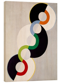 Wood print  Endless rhythm - Robert Delaunay