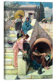 Canvas print  Diogenes - John William Waterhouse