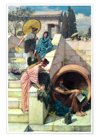 Premium poster  Diogenes - John William Waterhouse