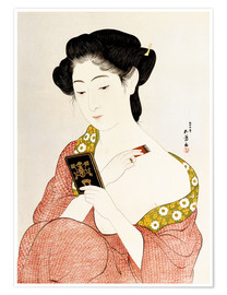 Goyo Hashiguchi - A Woman in Underclothes