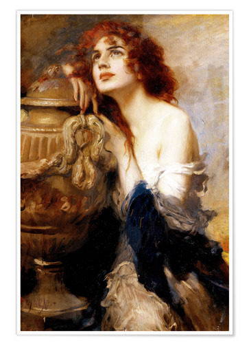 Premium poster A Titian Beauty