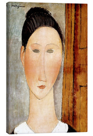 Canvas  Head of Girl - Amedeo Modigliani