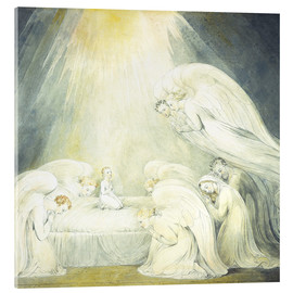 Acrylic print  The Infant Jesus Saying His Prayers - William Blake
