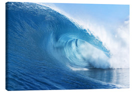 Canvas print  Blue Ocean Wave