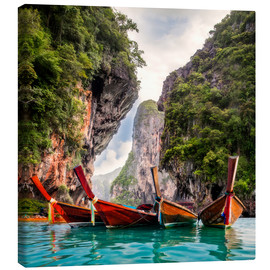 Canvas print  Railay beach in Krabi Thailand