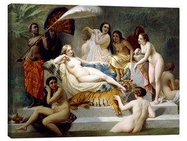 Canvas print  Odalisque - Henri Pierre Picou