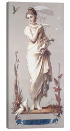 Canvas print  The Four Seasons - Printemps - Joseph Felon