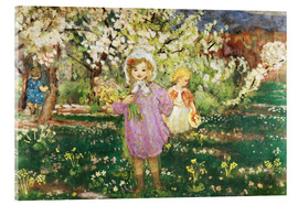 Henri Lebasque - Children in an Orchard in Blossom