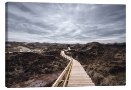 Canvas  Island routes on Amrum - Oliver Henze