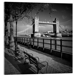 Acrylic print  LONDON Tower Bridge - Melanie Viola
