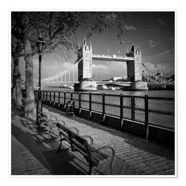 Premium poster LONDON Tower Bridge