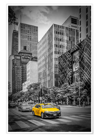 Premium poster CHICAGO North Michigan Avenue